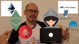 Proof of Keys!?   Ethereum Cyber WAR - Constantinople   Dark Web & McAfee