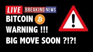 ⚠️ WARNING: BIG MOVE SOON for Bitcoin (BTC)?! - Crypto Market Trading Analysis & Cryptocurrency News