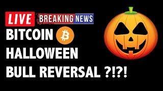 Halloween Bull Reversal for Bitcoin (BTC)?! - Crypto Market Technical Analysis & Cryptocurrency News
