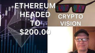 ETHEREUM BACK TO $200.00 SOON PLEASE SUBSCRIBE