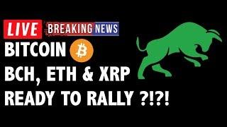 Will Bitcoin Cash (BCH/BTC), ETH & XRP Rally?-Crypto Market Technical Analysis & Cryptocurrency News