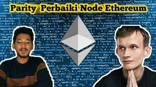 Parity Perbaiki Node Ethereum