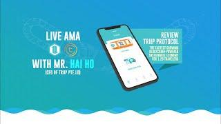 Triip ICO Live AMA on TomoChain