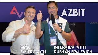 Azbit - CEO Maksim Zmitrovich Interview With Dushan Spalevich fo ICO TV