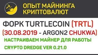 Форк TurtleCoin (TRTL) состоялся майним картами Nvidia (algo Argon2 Chukwa) | Выпуск 286 | BitExpmcc