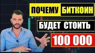 Биткоин будет стоить 100 000$ в 2020 году! Причины роста биткоина