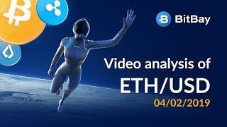 Ethereum Price Technical Analysis ETH/USD 04/02/2019 - BitBay