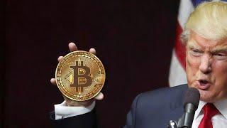ТРАМП ЗАПРЕТИТ биткоин? Будущее криптовалют. Новости криптовалют