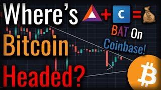 What's Next For Bitcoin? - BAT Listed On Coinbase Pro!