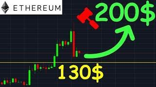 ETHEREUM 200$ PROCHAINE HAUSSE !? ETH analyse technique crypto monnaie bitcoin
