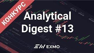 EXMO Analytical Digest #13 | Обзор рынка криптовалют + КОНКУРС!