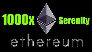 """Ethereum """"Serenity"""" Enables 1000x Increase in Scalability - Daily Bitcoin and Cryptocurrency News"""