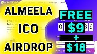 ALMEELA Promotion Airdrop | Free $9+$18 Worth Token | Best ICO Airdrop