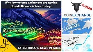 Latest Bitcoin news in Tamil - Binance rumor - Market Update - CryptoTamil