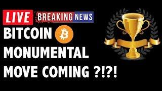 Monumental Move Coming for Bitcoin (BTC)?! - Crypto Market Trading Analysis & Cryptocurrency News