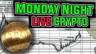 Monday Night Cryptocurrency & Bitcoin Market Analyisis