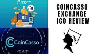 Ico Review |  COINCASSO   -  Cryptocurrency Exchange Platform & ATM's Network