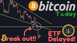 THE BREAK OUT CAME! | Breaking News: The ETF DELAYED! | Is $3,000 Still The Target?