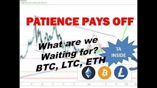 Bitcoin Litecon Ethereum - Market Update 8/17/19
