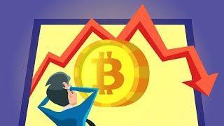 Биткоин упал ниже $5000 | Прогнозы инвесторов относительно будущего криптовалют | Слив Биткоина?