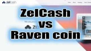 ZelCash конкурент Raven coin Майнинг HiveOS