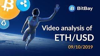 Ethereum Price Technical Analysis ETH/USD 09/10/2019 - BitBay