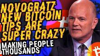 BREAKING NEWS! M. NOVOGRATZ New BITCOIN TIPS Are SUPER CRAZY, MAKING PEOPLE THOUSANDS! His 3 METHODS