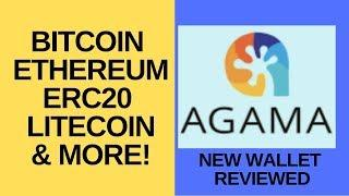 Bitcoin, Ethereum, ERC20 & More - New Agama Wallet Reviewed!