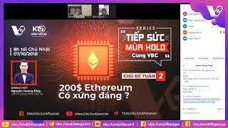 Ethereum - Tương Lai Công Nghệ Của ETH Với Casper và Sharding by KTS + VBC | Nguyễn Hoàng Điệp