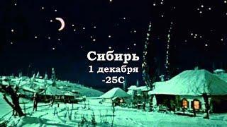 Сибирь 1 декабря - 25 C! Ты заходи, если что...