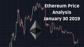 Ethereum Price Technical Analysis January 30 2019