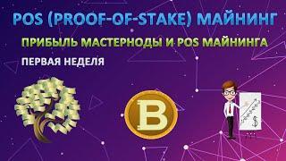 PoS (proof-of-stake )майнинг. Доходность мастерноды и POS майнинга #1 (Simple Pos Pool)
