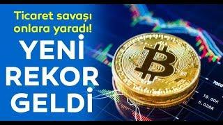 Bitcoin 2019 un Rekorunu Kırdı.. Ethereum, Riplle, Stellar Son Durum 17.06.2019