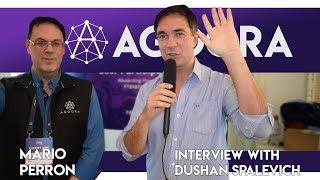 Agoora - Tokenizing User Participation - CEO Mario Perron Interview With Dushan Spalevich for ICO TV
