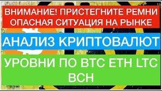 Биткоин будет дальше падать?! Прогноз по Bitcoin на неделю!
