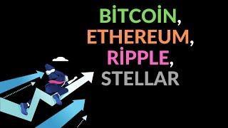 Kripto Paralarda Boğa Rüzgarı Devam Ediyor!.. Bitcoin, Ethereum, Ripple, Stellar 20.06.2019