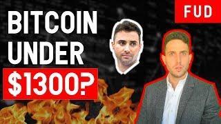 BITCOIN TO $1300!? How to predict BTC bottom & make millions in bear market ETH EOS NEO