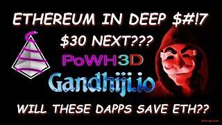 Crypto News Live: Ethereum $30 Next Stop Powhh3d and Gandhiji.io  #BTC #ETHEREUM #ETH