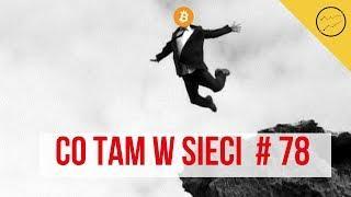 Cena bitcoina szaleje, Tron i Ethereum?, konkurencja facebooka nie śpi | Co tam w sieci? #78