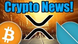 Bitcoin Price Update! Bullish News for XRP! Tron Announcement! Ontology Update!