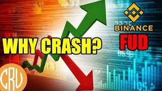 What Caused The Bitcoin Crash? - My Thoughts on Binance FUD | Bitcoin and Cryptocurrency News