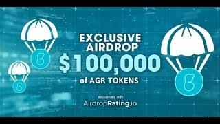 GET FREE AIRDROP /16 ICOIN [~$16] in latoken /earn 2000 AGR tokens (~$10)