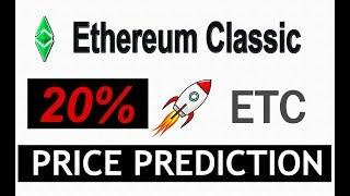 ETHEREUM CLASSIC PRICE PREDICTION  |  ETHEREUM CLASSIC (ETC) LATEST NEWS #ETC  8 APRIL 2019