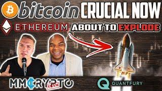 DavinciJ15: Bitcoin CRUCIAL Now & Ethereum Gonna EXPLODE!?   Quantfury APP