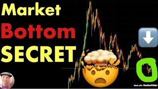 Attention: The Secret To Timing The Market Bottom (Bitcoin btc crypto crash news today)