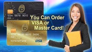 IDentification - You Can Order VISA or Master Card!