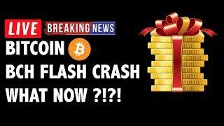 FLASH CRASH on Bitcoin Cash (BCH/BTC)! What Now?! - Crypto Market Analysis & Cryptocurrency News