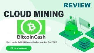 REVIEW BCHONLINE - Earn up to 0.003 Bitcoin Cache per day for FREE