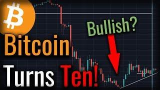 Is Bitcoin Repeating Bullish History? Bitcoin Turns Ten!