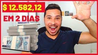BITCOIN: GANHEI R$ 12.582,12 EM 2 DIAS! COMO GANHAR DINHEIRO NA INTERNE!!!